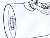 Povrch bubnu vyčistíme