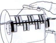Přiložíme pásek a zavaříme