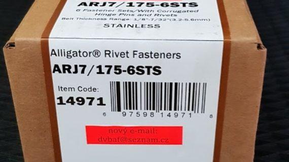 FLEXCO RIVET spojky ARJ7-175-6STS